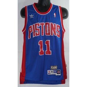 Detroit Pistons Isiah Thomas Adidas Jersey M